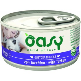 Oasy Wet Cat mousse gatto lattina