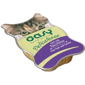 Oasy Wet Cat Delicatesse paté gatto vaschetta
