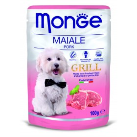 Monge grill cane buste