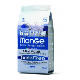 Monge Grain Free secco cane Mini