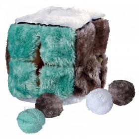 Cubo con 4 palline