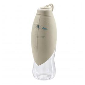 Bottiglia da viaggio con ciotola in silicone