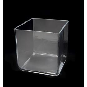 Vasca cubo in vetro