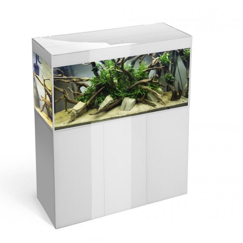 Mobile per acquario aquael linea glossy 120 bianco solo for Mobile per acquario
