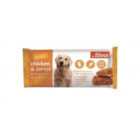 Barretta Take Away per Cani pollo e mela