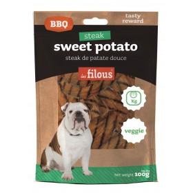 Patate dolci a fettine BBQ per Cani