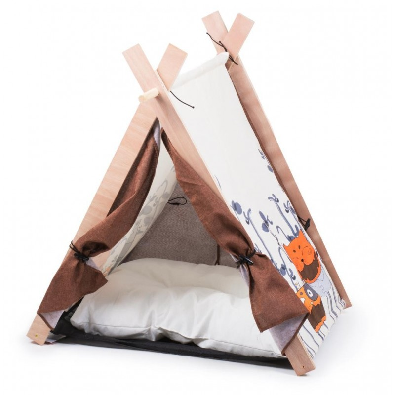 Cuccetta a tenda con cuscino