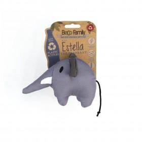 Gioco Cane in stoffa Beco con squeaker Estella L'Elefante