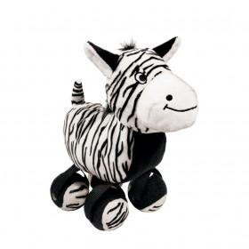 Kong Peluche Zebra con palle da tennis