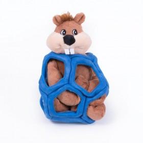 Kong Peluche Puzzlements Castoro
