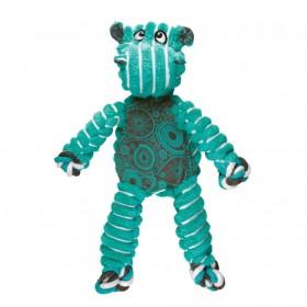 Kong Gioco Stoffa Floppy Knots Ippopotamo