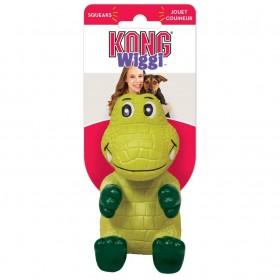 Kong Gioco Wiggi Alligatore con squeaker