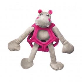 Kong Peluche Puzzlements Ippopotamo