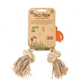 Gioco in corda naturale Jungle con 2 nodi Beco