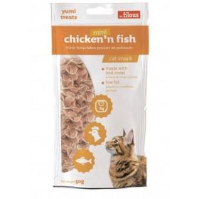 Bocconcini di Pollo&Pesce per Gatti