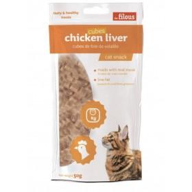 Cubetti di fegato di pollo per Gatti