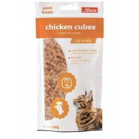 Cubetti di pollo naturale per Gatti