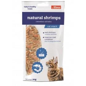Gamberetti naturali essiccati per Gatti