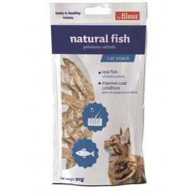 Pesce naturale essiccato per Gatti