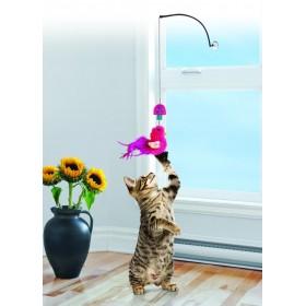 Kong Bacchetta gatto per finestra