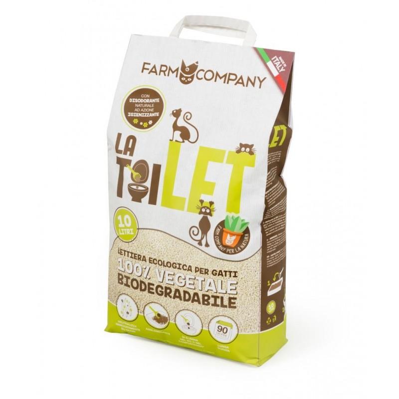 LaTOILET lettiera biodegradabile 10Lt MadeinItaly