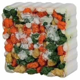 Pietra con alghe e crocchette