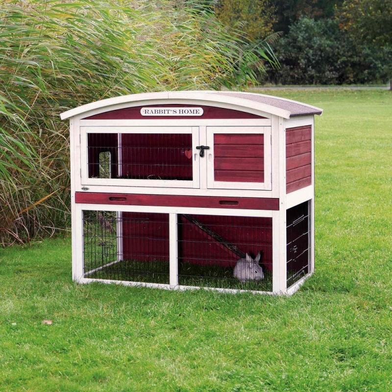 Casetta da esterno con recinto