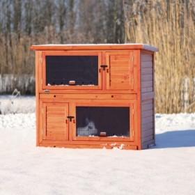Casetta da esterno con sistema isolante