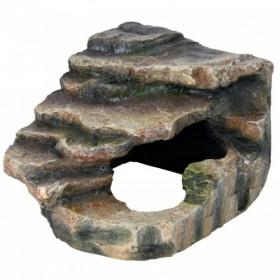 Roccia angolare con cavità...
