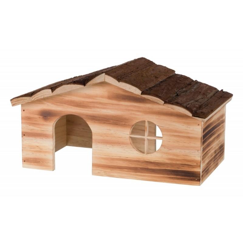 Casetta Ragna in legno fiammato