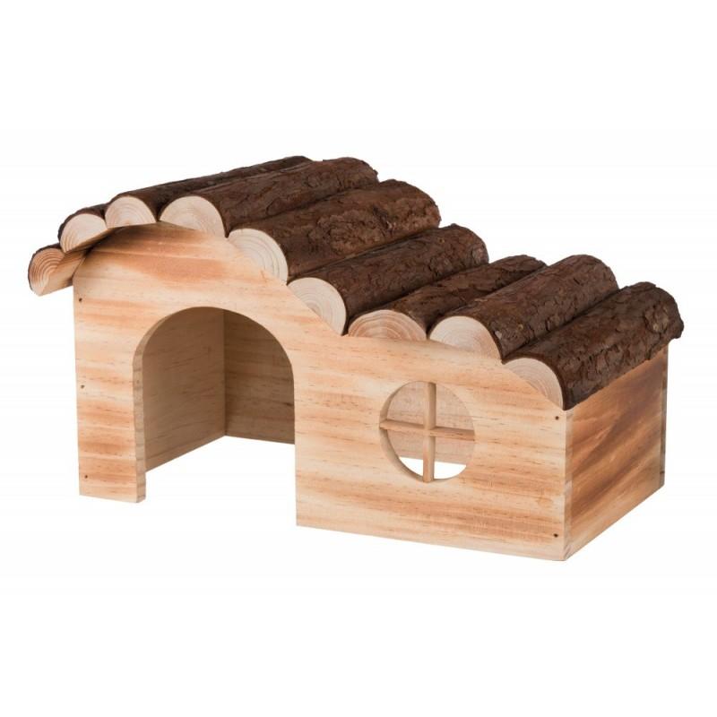 Casetta Hanna in legno fiammato