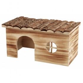 Casetta Grete in legno fiammato