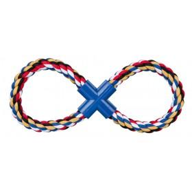 Anello a forma di 8, in corda