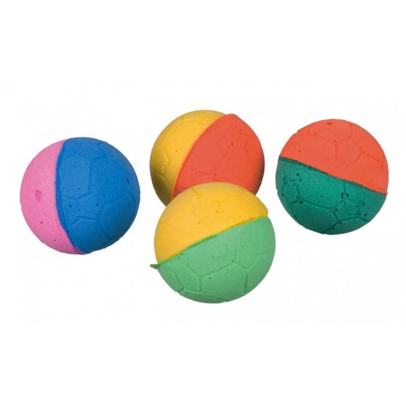 Assortimento di palline morbide, in gomma morbida