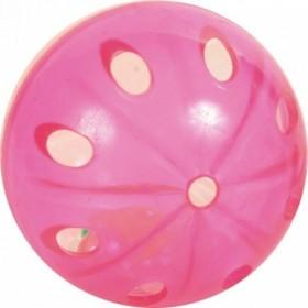Set di palline con sonaglio in plastica