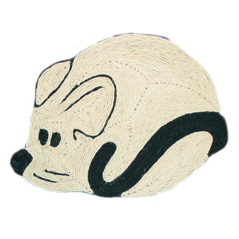 Tappetino a forma di topo
