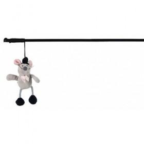 Canna da pesca con topo Squieky